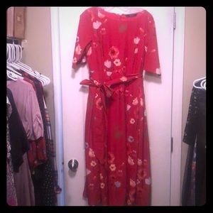 Fit-and-flare vintage style dress!